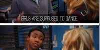 Why girls are supposed to dance