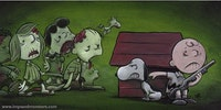 The Walking Dead - Peanuts style.