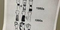 Rock concert audience evolution.