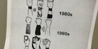 Rock concert audience evolution.