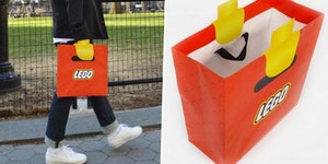This Lego bag is on point
