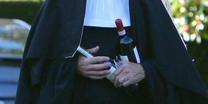 Harrison Ford dressed up as a nun for halloween last year.