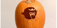 Luigi's Mansion Pumpkin art