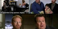 "Modern Family. The side ""interviews"" are my favorite parts"