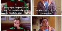 How will Sheldon die?