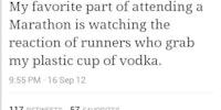 My favorite part of attending a Marathon...