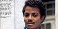 A prediction from 1985 of what Michael Jackson would look like in 2000...
