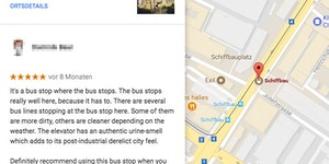 Bus stop review ⭐⭐⭐⭐⭐