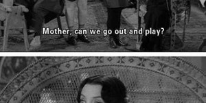 Morticia was one of us