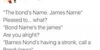 Jond, Bames Jond