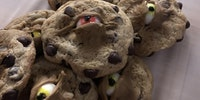 Spooky eyeball cookies are 2nummy4us