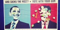 Vote with your gum.