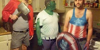 White Trash Avengers.