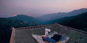 I could sleep here