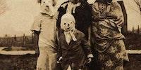 Halloween in 1910.