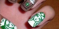 White girl wasted nails