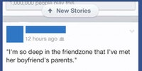Deep in the friendzone...