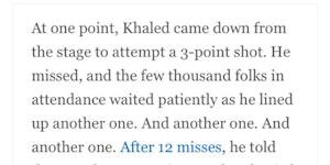 DJ Khaled Motivates Us Again