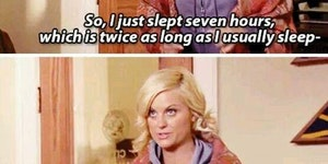 God, it feels amazing to have actually had 8 hours of sleep..
