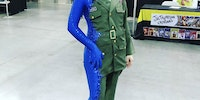 Really cool Mystique Cosplay
