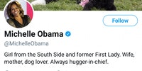 Michelle Obama's bio is wholesome.