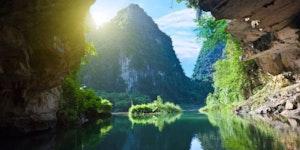 Tam Cốc-Bích Động, Vietnam. Photo by Olga Khoroshunova