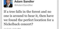 If a tree falls in the forest and no one is around