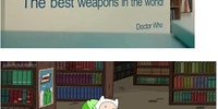 The best weapons in the world!