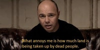 Karl Pilkington is a saint