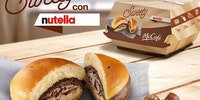 McDonald's Italy Just Launced The Nutella  burger