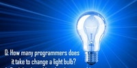 How many programmers does it take to change a light bulb?
