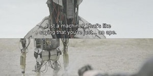 Just a machine?