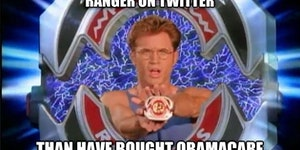 Billy the Blue Ranger has some twitter love