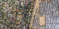 The divide in South Africa.