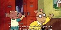 Arthur was brutal