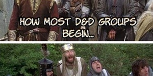 How most D&D Groups begin