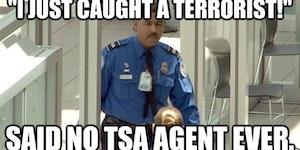 Thank you TSA...
