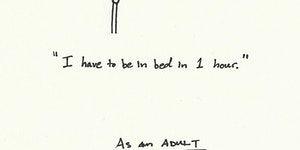 Time: As a kid vs As an adult