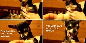 I has a hand!