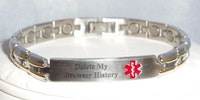 My emergency bracelet of choice.