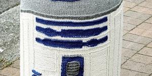 R2-D2 street art.