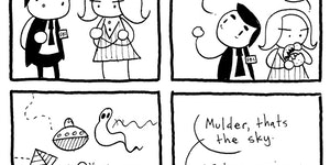 Every episode of The X-Files ever.
