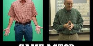 Same actor, same clothes.