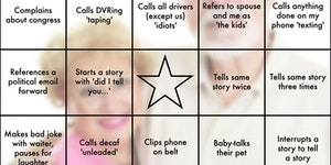 I made In-Law BINGO for Christmas