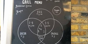 Venn Diagram Breakfast Menu