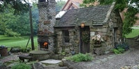 A stone cottage. I could live here.