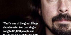 One of the great things about music...
