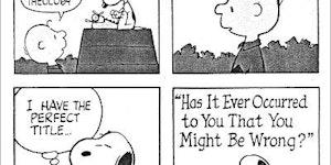 A Peanuts Classic
