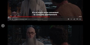 Netflix's A Series of Unfortunate Event, everyone