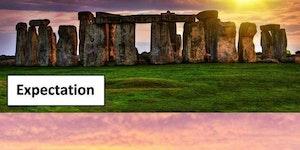 Watching The Stonehenge During Sunset....